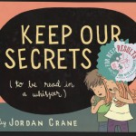 "Cover of Jordan Crane's book ""Keep Our Secrets,"" which uses heat-sensitive ink."