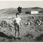 Photo of Ian McEwan as a young boy in 1956 in Libya, North Africa.