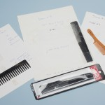 Comb samples for McSweeney's Quarterly Concern, Issue 16 (May 2005). Photo by Pete Smith.