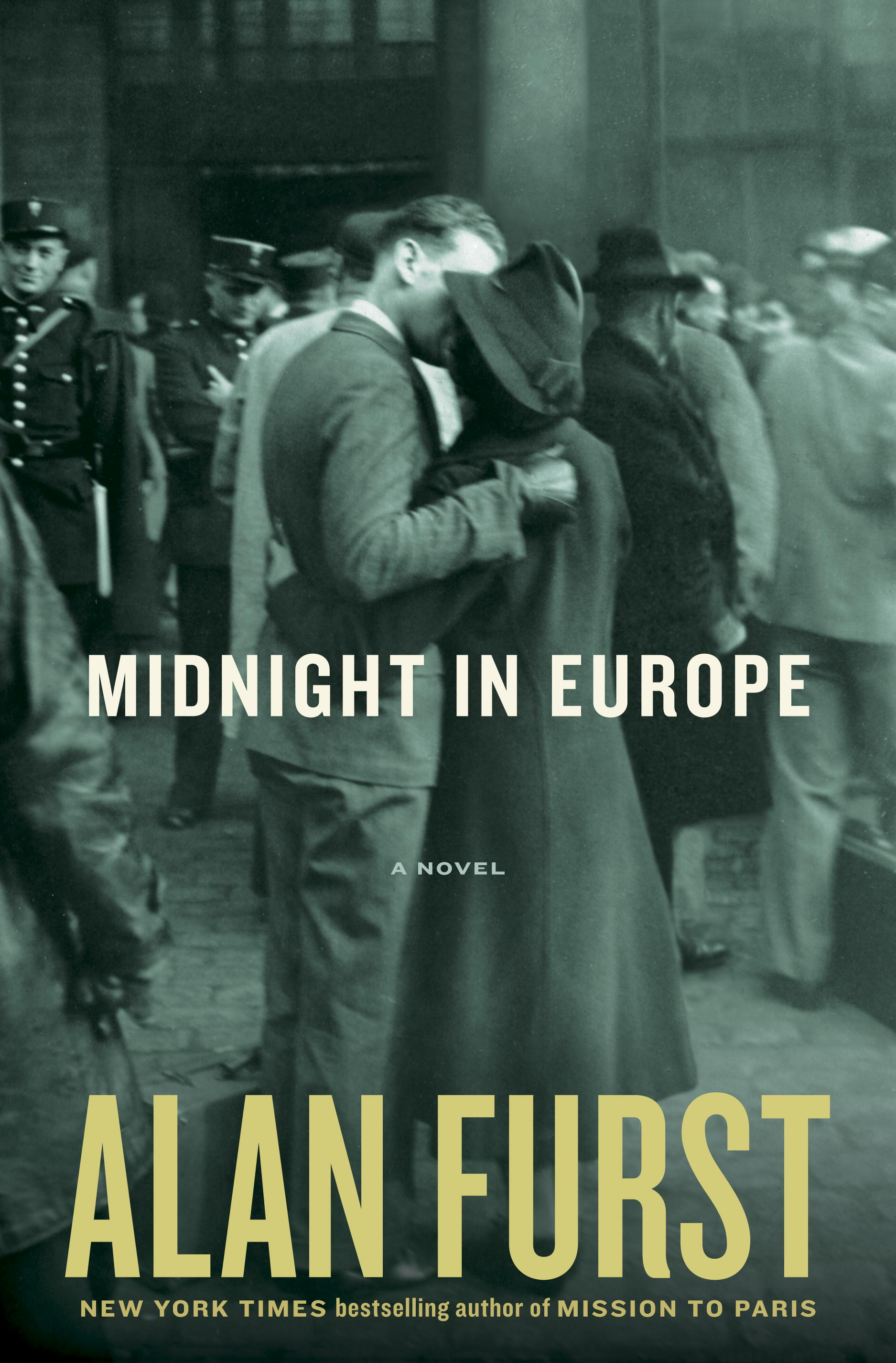 "Cover of Alan Furst's novel ""Midnight in Europe."""