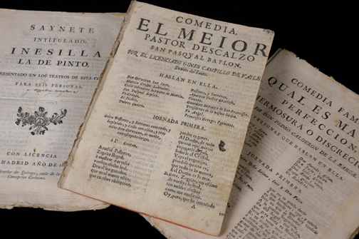 Texas collection of comedias sueltas and Spanish theater available for research and in online database