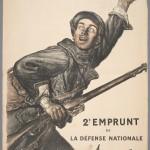"""""""On les aura!"""" [We'll get them!] Abel Faivre (1867-1945) 1916 Lithograph"""