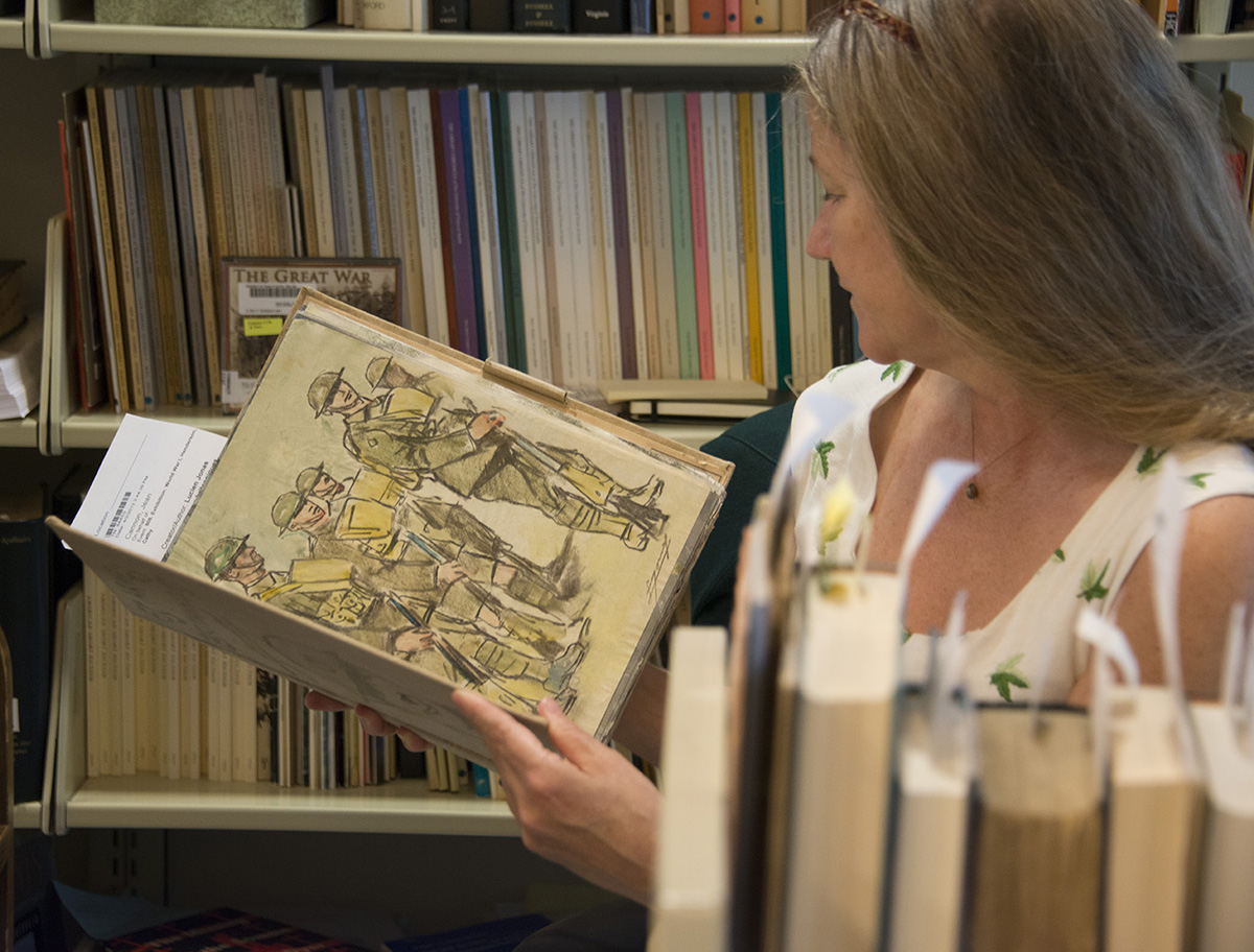 Meet the Staff: French Collections Research Associate Elizabeth Garver
