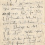 Wilfred Owen's last letter to his mother, Oct. 31, 1918.