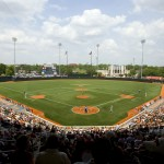 UFCU Disch-Falk field, home to the Texas Baseball team. Photo courtesy of Intercollegiate Athletics at The University of Texas at Austin.