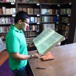 In the summer of 2012, Palacios conducted research at the Archive del Cabildo Metropolitano de la Arquidiocesis de Mexico (the Archive of the Metropolitan Cathedral Chapter of the Archdiocese of Mexico City).
