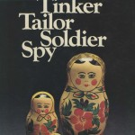 "Cover of British edition of John le Carré's 1974 novel ""Tinker, Tailor, Soldier, Spy."""