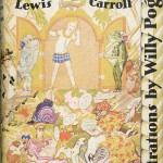 "Cover of 1929 edition Lewis Carroll's ""Alice's Adventures in Wonderland,"" illustrated by Willy Pogany."