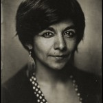 Tintype portrait of Diana Diaz by Lumiere Tintype.