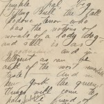 Letter by Howard Kretz dated June 10, 1913 from the Sunwise Turn Bookshop Collection.