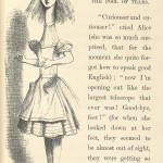 "John Tenniel's illustration of Alice from the first published edition of Lewis Carroll's ""Alice's Adventures in Wonderland."""