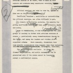 Ben Bradlee's annotations on his affidavit regarding confidentiality of sources.