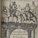 'The History of Don-Quichote' by Miguel de Saavedra Cervantes, London, 1620. Published by Edward Blount (one of the publishers of Shakespeare's first folio), and translated by Thomas Shelton, this is the first English printing of Don-Quichote.