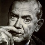 Photo of Graham Greene.