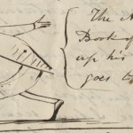 "Detail from Letter to from Edward Lear to Augusta (""Gussie"") Bethell, 1881, Edward Lear collection, 1830 – 1883."