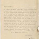 Niels Bohr. Letter to O. W. Richardson, April 7, 1927.