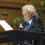 Norman Mailer reads from his forthcoming novel, The Castle in the Forest.