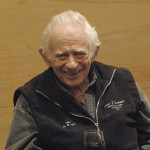Norman Mailer at the Flair Symposium.