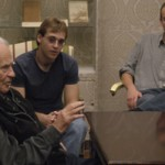 Norman Mailer speaks to a a reading group from the University's Plan II and Liberal Arts Honors programs that is studying his works this semester.