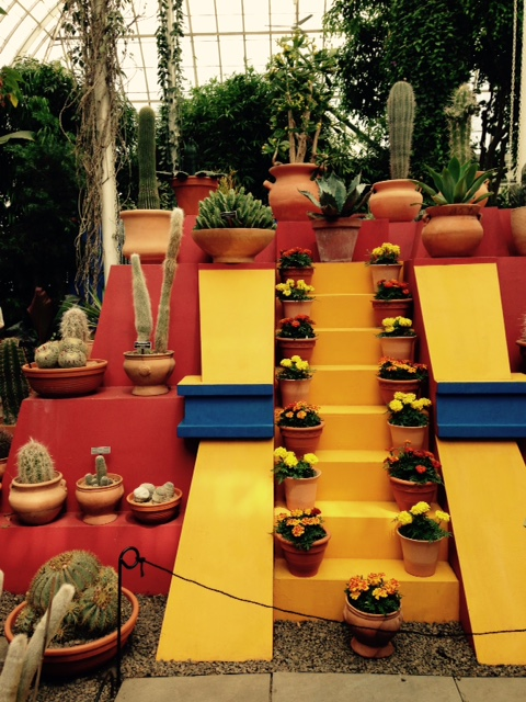 Frida Kahlo exhibition at the New York Botanical Garden. Photo by Margie Rine.