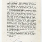 A letter from former President Jimmy Carter to Miller Williams, dated June 15, 1991.