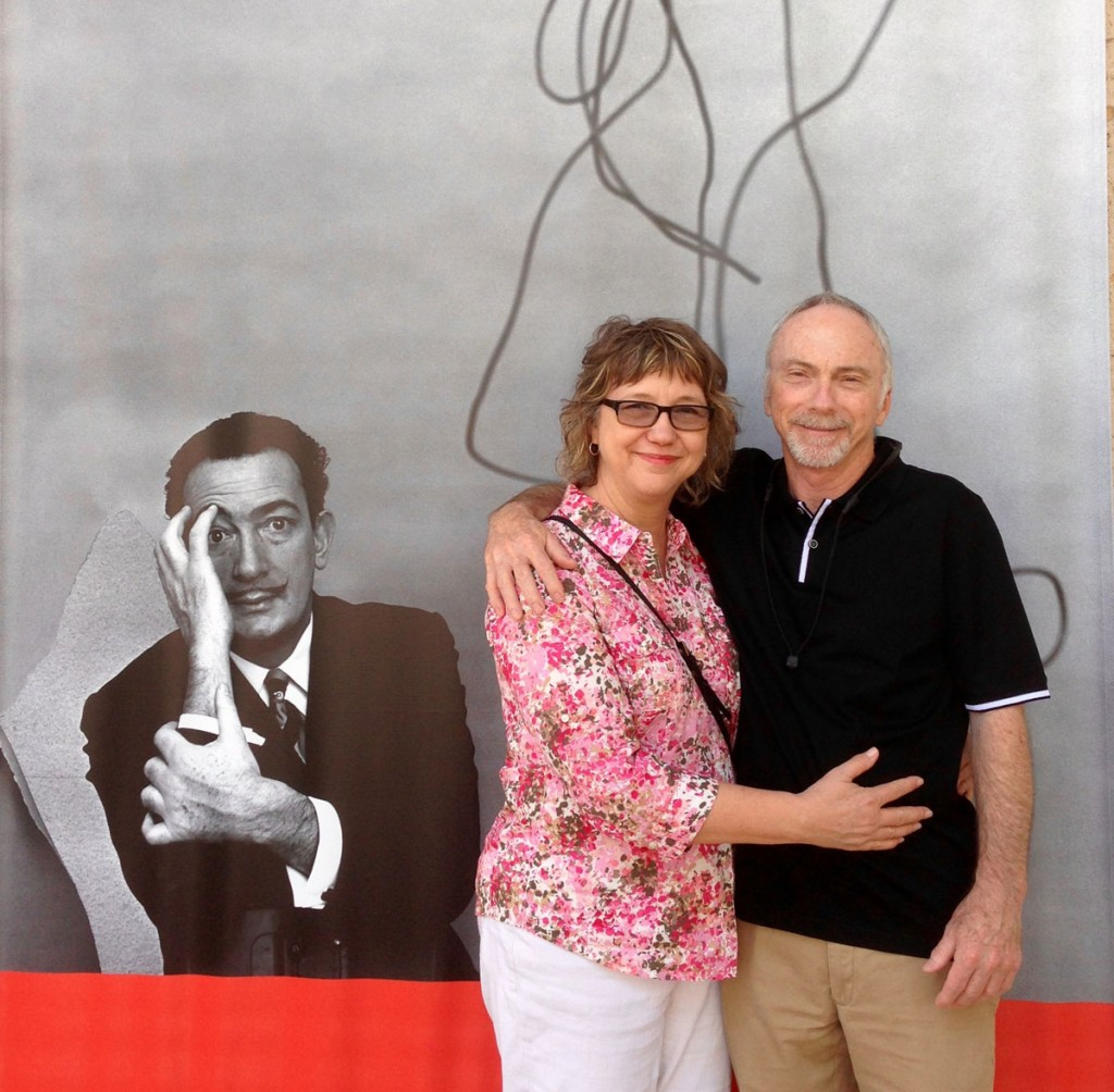 Peter Mears with his wife, Catherine. Courtesy of Peter Mears.