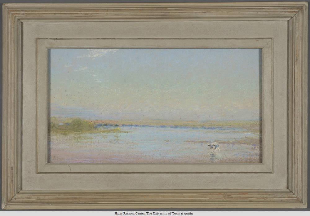 Listen: Step into the dreamy Southwestern scene of Frank Reaugh's <em>Quiet River</em>