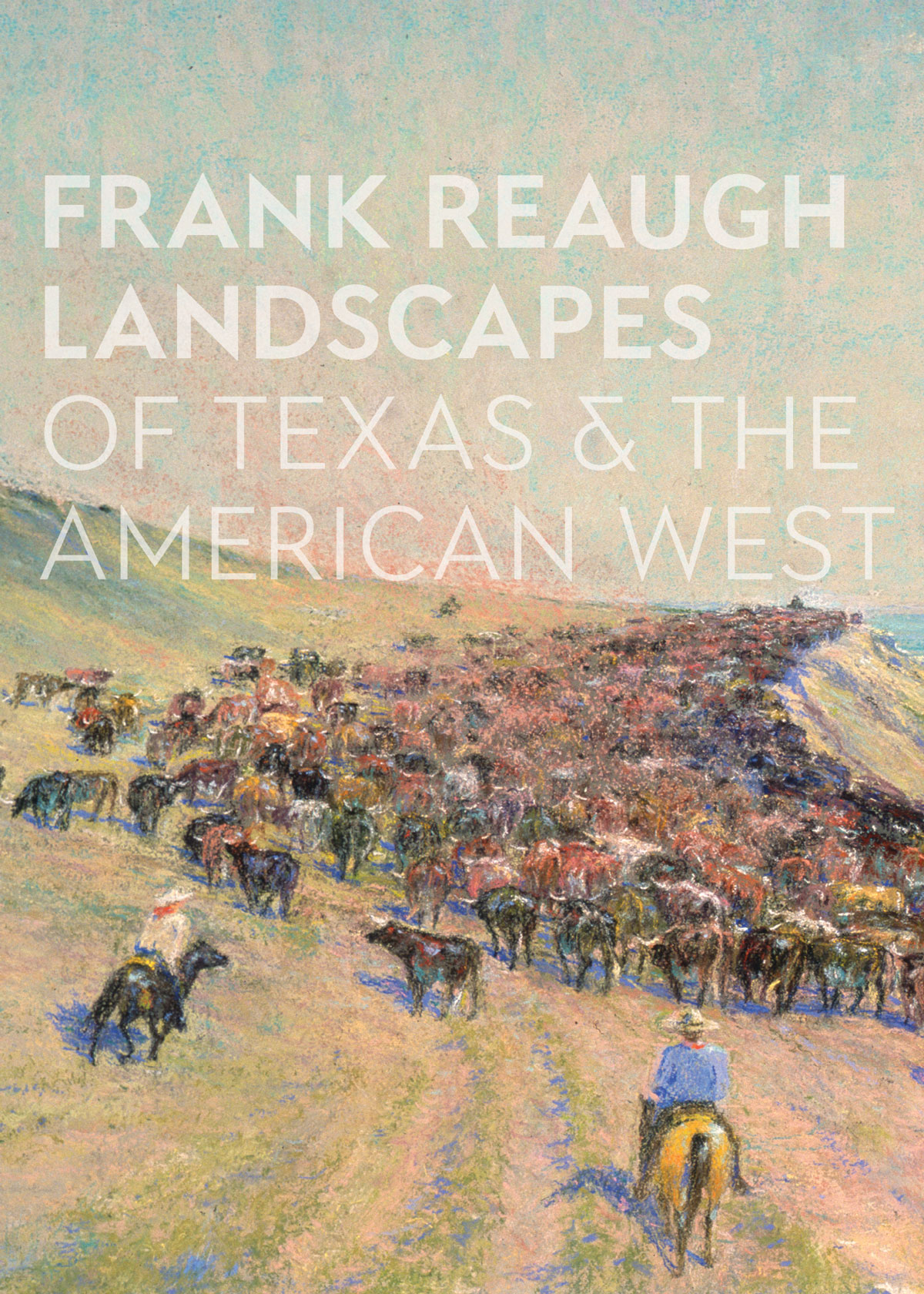 Frank Reaugh: Landscapes of Texas and the American West graphic identity.