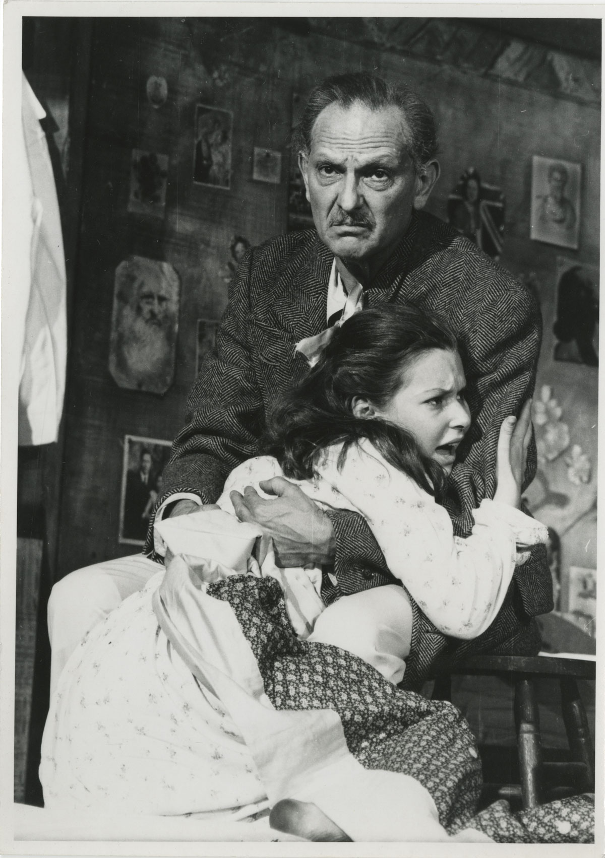 The Diary of Anne Frank Original Broadway Production, Fred Fehl Theater Photograph Collection