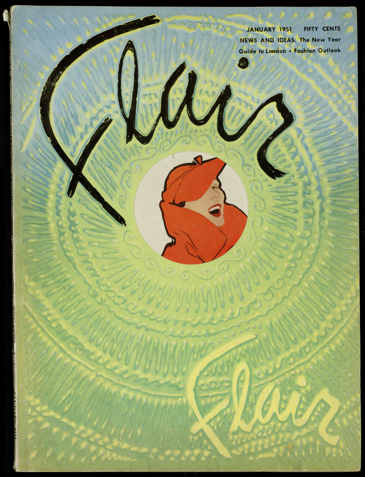 January 1951 issue of Flair magazine.