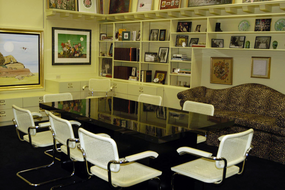 Fleur Cowles Room in the Harry Ransom Center. Photograph by Eric Beggs.