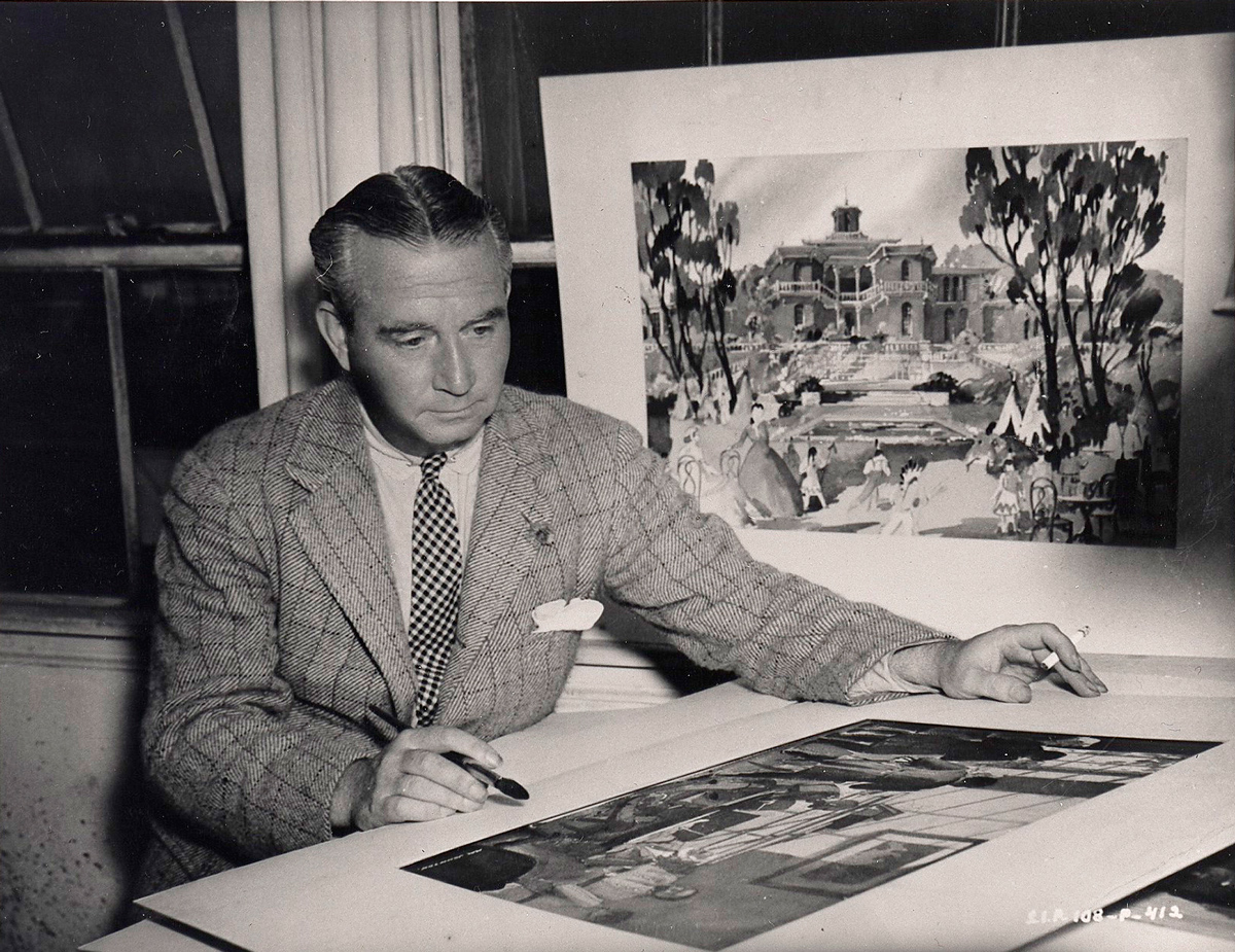 Gone With The Wind production designer William Cameron Menzies.