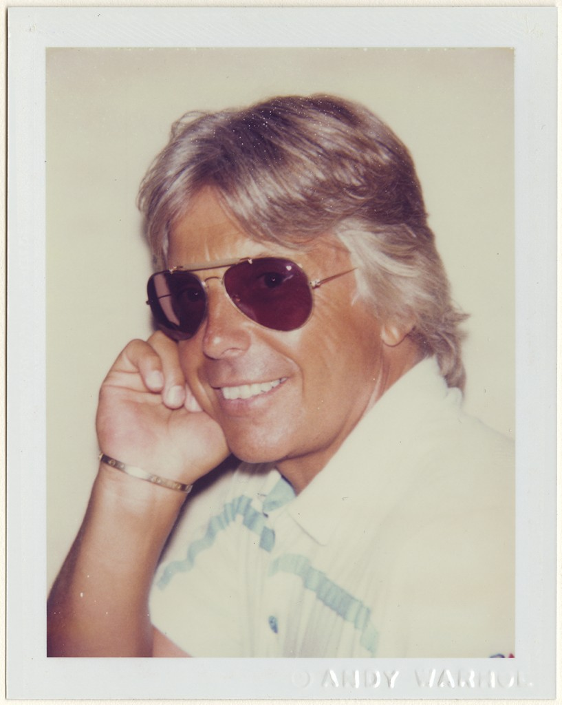Andy Warhol (American, 1928–1987). Robert Miller, 1983. Dye diffusion print, 10.8 x 8.5 cm. Harry Ransom Center, gift of the Andy Warhol Foundation © 2016 The Andy Warhol Foundation for the Visual Arts, Inc. / Artists Rights Society (ARS), New York