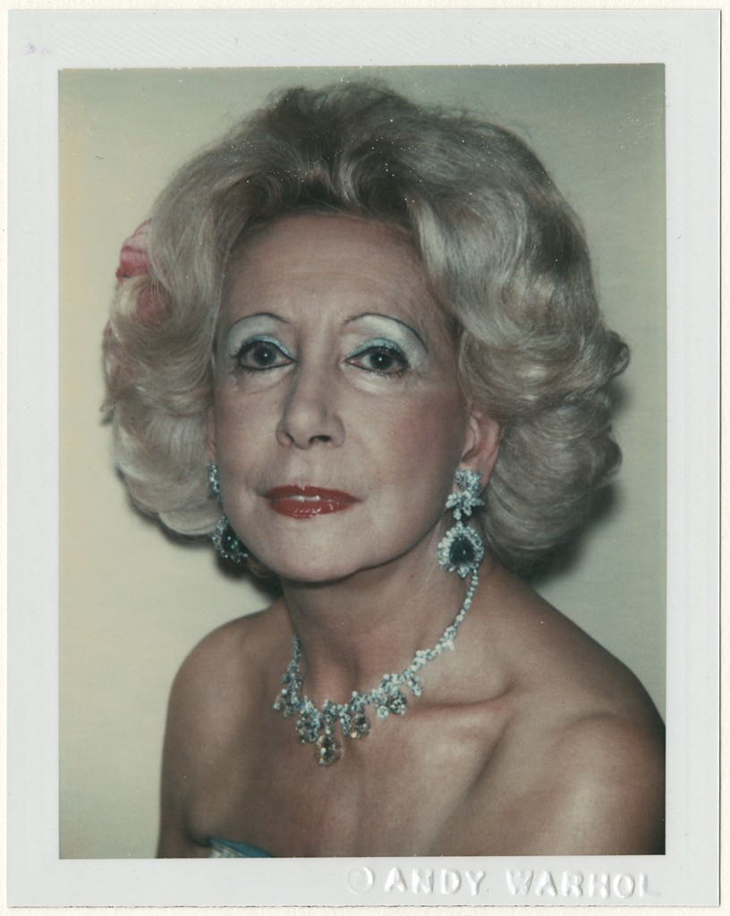 Andy Warhol (American, 1928–1987). Margaret Krebs, 1981. Dye diffusion print, 10.8 x 8.5 cm. Harry Ransom Center, gift of the Andy Warhol Foundation © 2016 The Andy Warhol Foundation for the Visual Arts, Inc. / Artists Rights Society (ARS), New York