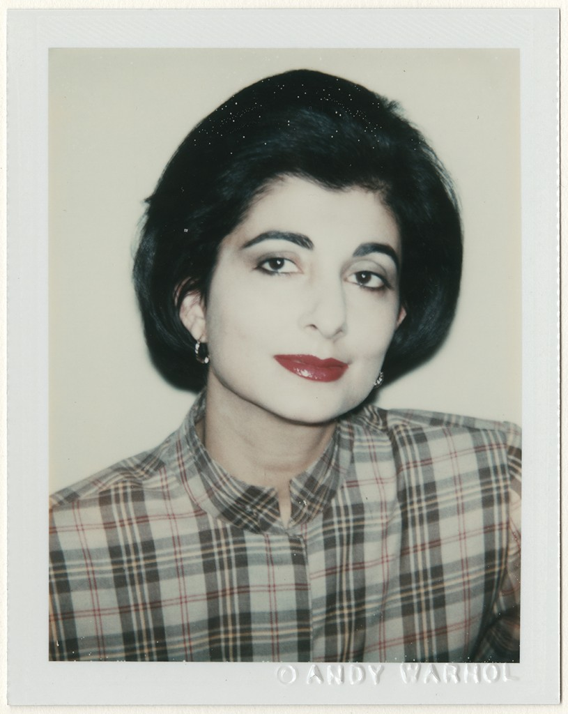 Andy Warhol (American, 1928–1987). Unidentified Woman, 1980. Dye diffusion print, 10.8 x 8.5 cm. Harry Ransom Center, gift of the Andy Warhol Foundation © 2016 The Andy Warhol Foundation for the Visual Arts, Inc. / Artists Rights Society (ARS), New York