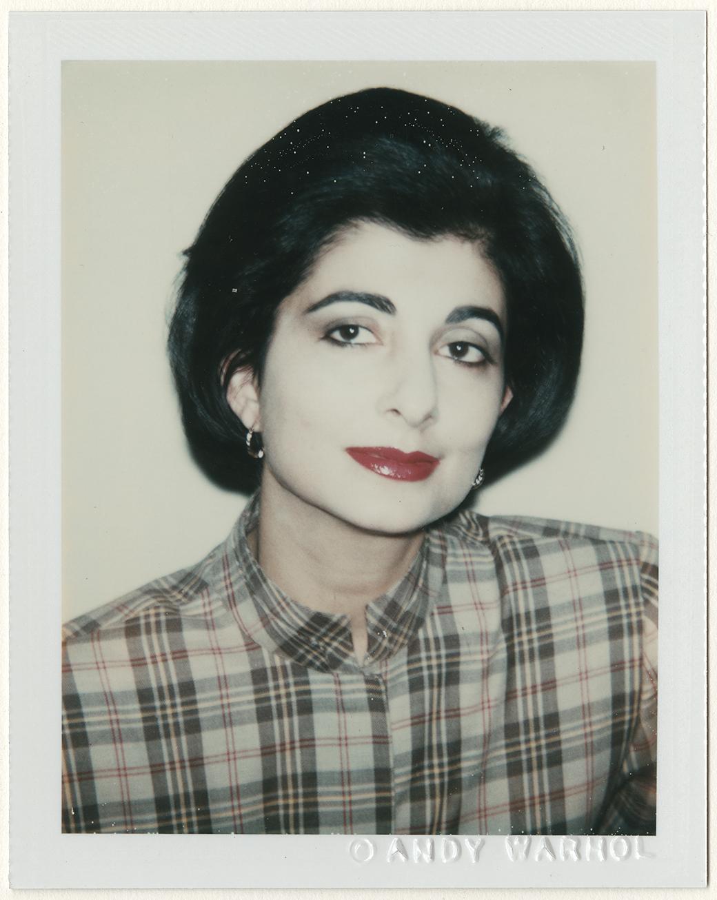 Montando Polaroids de Andy Warhol