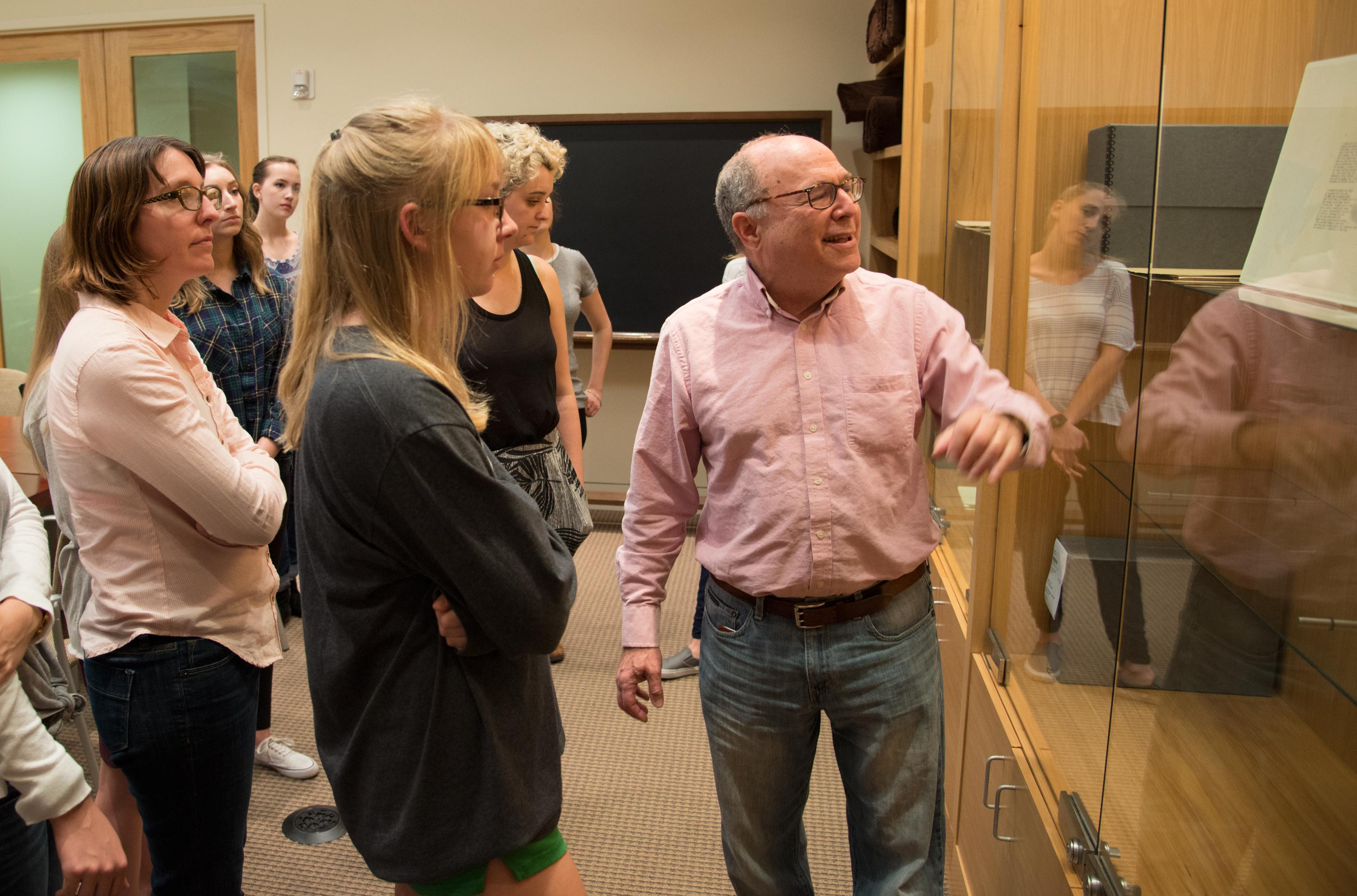 Out of the classroom, into the collections: Undergraduate class brings students to Ransom Center archives