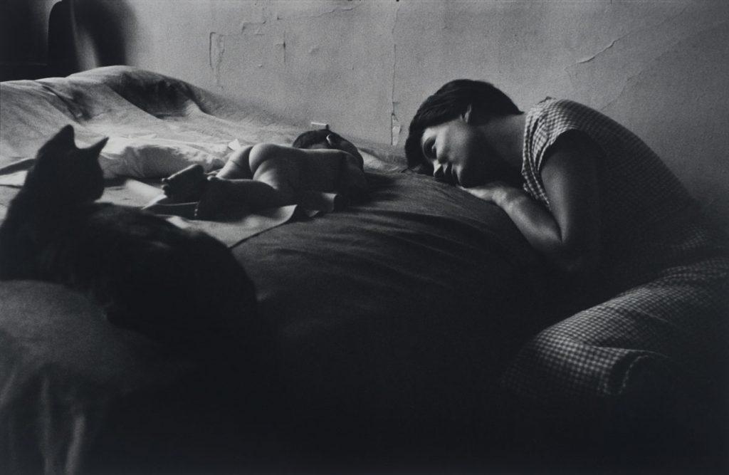 Elliott Erwitt (American, b. France 1928), New York, New York, 1953. Gelatin silver print, 26.5 x 40.6 cm (image). Harry Ransom Center Collection © Elliott Erwitt/Magnum Photos