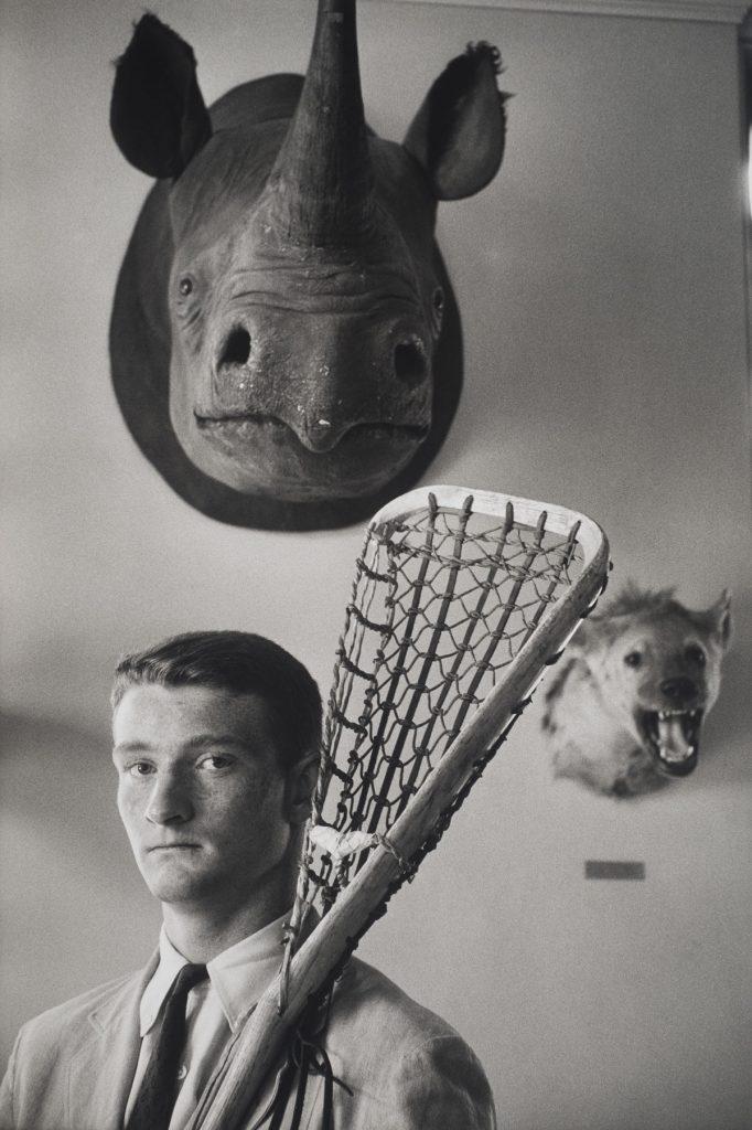 Elliott Erwitt (American, b. France 1928), Exeter, New Hampshire, 1956. Gelatin silver print, 34.3 x 23.1 cm (image). Harry Ransom Center Collection © Elliott Erwitt/Magnum Photos
