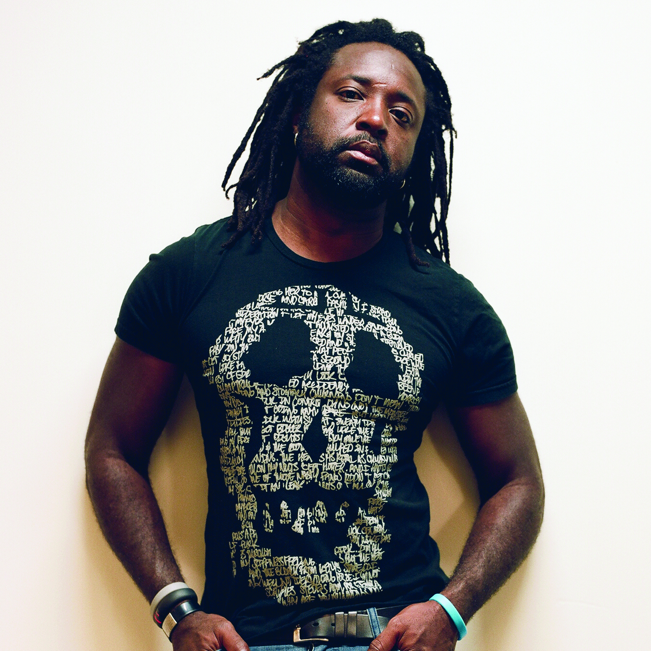 Marlon James. Photo by Jeffrey Skemp.