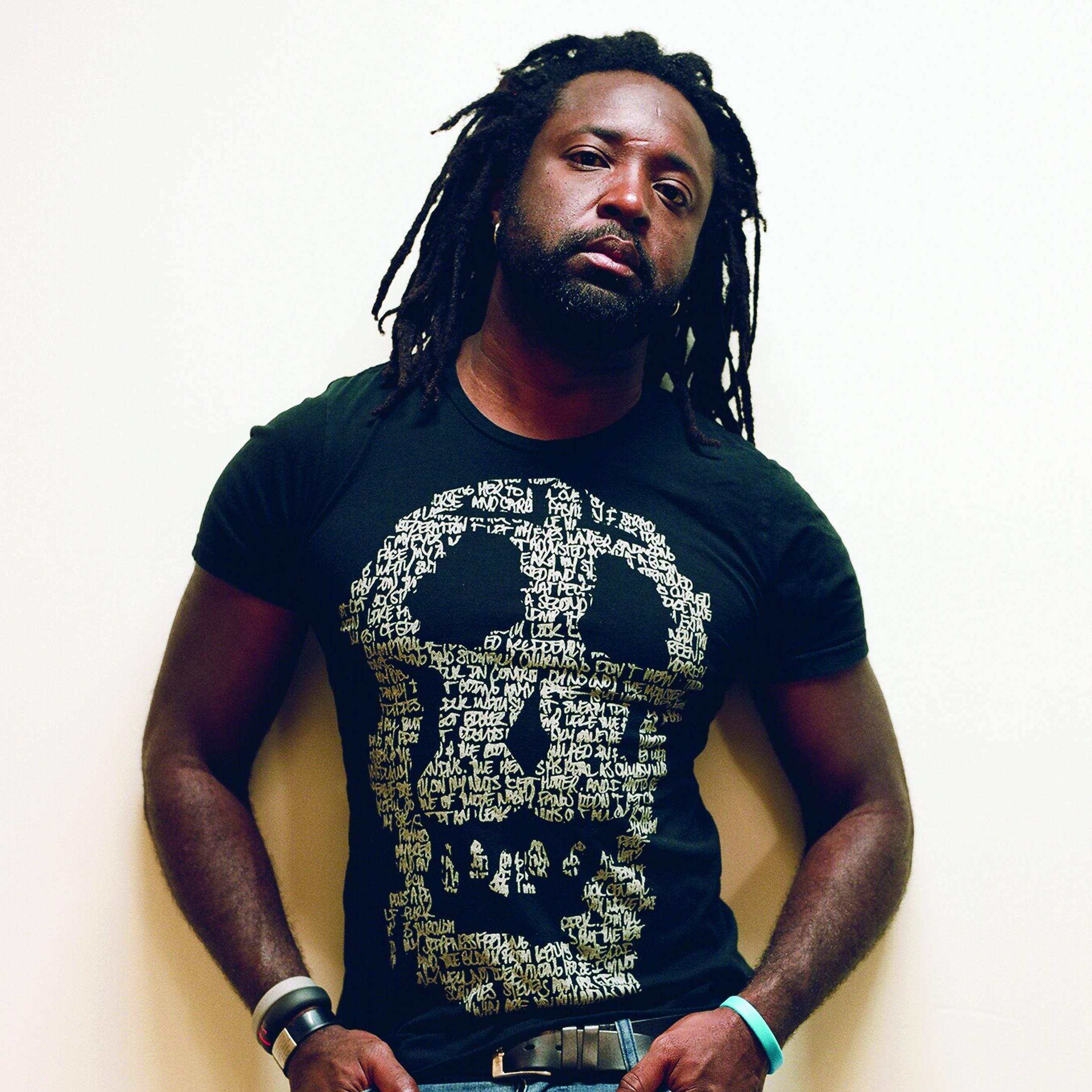 Marlon James. Photo by Jeffrey Skemp.