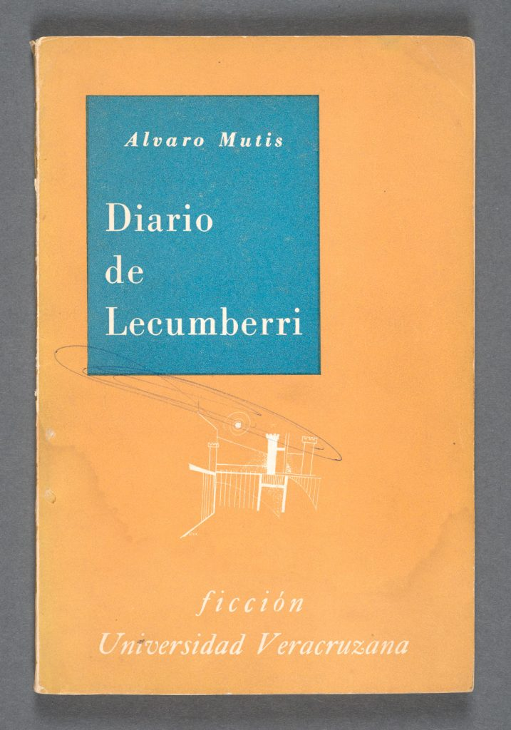 "Alvaro Mutis's ""Diario de Lecumberri'"" (1960). Photos by Pete Smith."