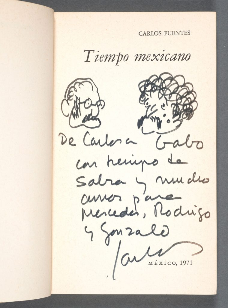 "Carlos Fuentes's ""Tiempo Mexicana"" (1971). Photos by Pete Smith."