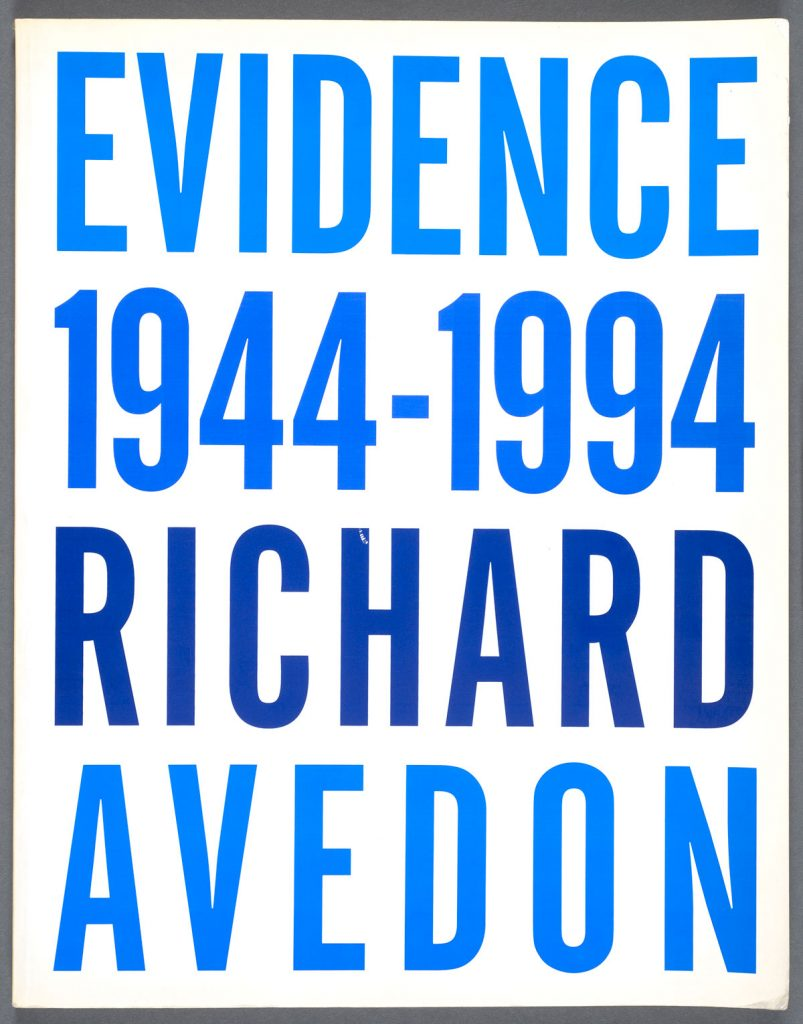 "Richard Avedon's ""Evidence 1944-1994"" (1994). Photos by Pete Smith."