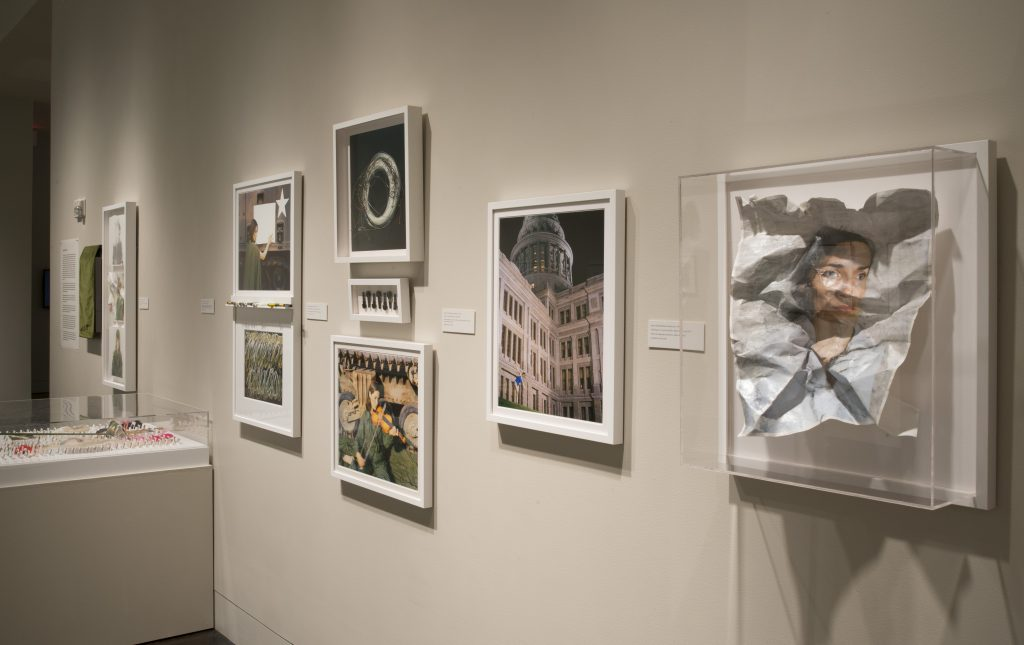 Installation shot of exhibition at Harry Ransom Center