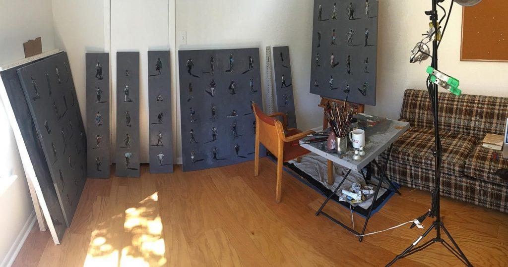 Rob's home studio.