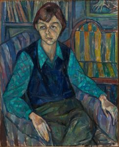 Emanuel Romano, Portrait of Carson McCullers, undated. From the Art Collection at the Harry Ransom Center.