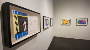 The exhibition Stories to Tell: Selections from the Harry Ransom Center.