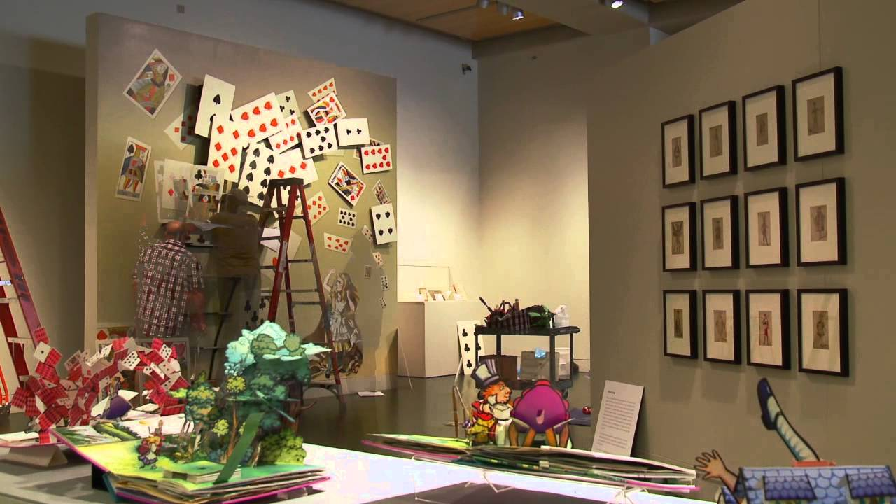 "Video: Time-lapse of ""Alice's Adventures in Wonderland"""