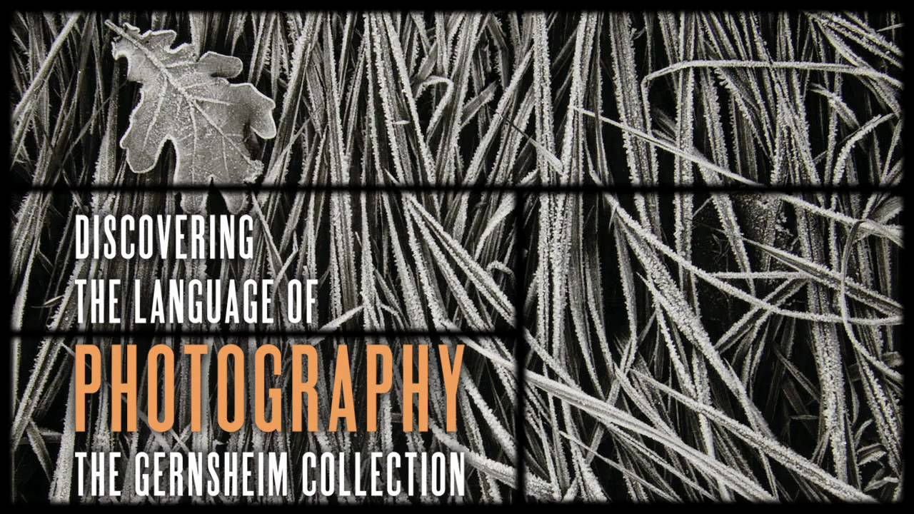"""View video of """"Discovering the Language of Photography: The Gernsheim Collection"""""""